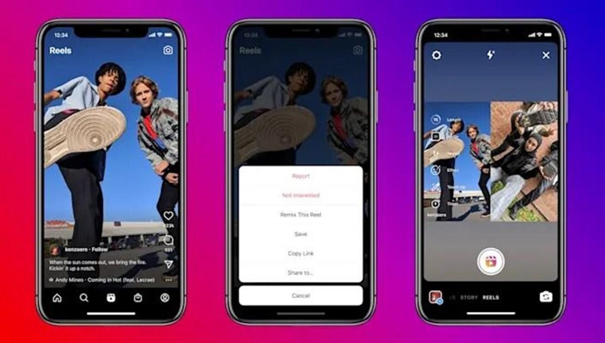 Instagram Remix duyuruldu: TikTok'u kopyalamaya devam ediyor
