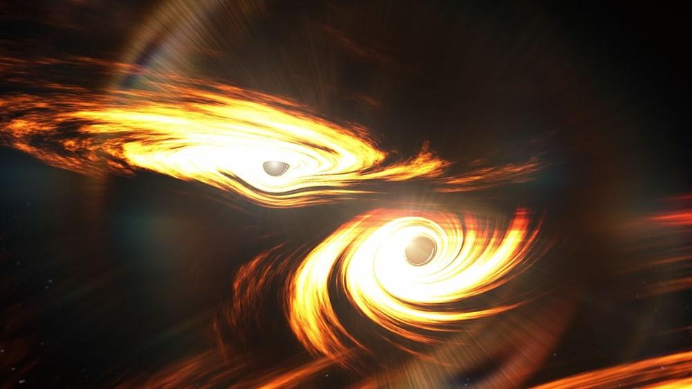 Dev karadeliklerin çarpışması 7 milyar yıl sonra Dünya'yı salladı - 1