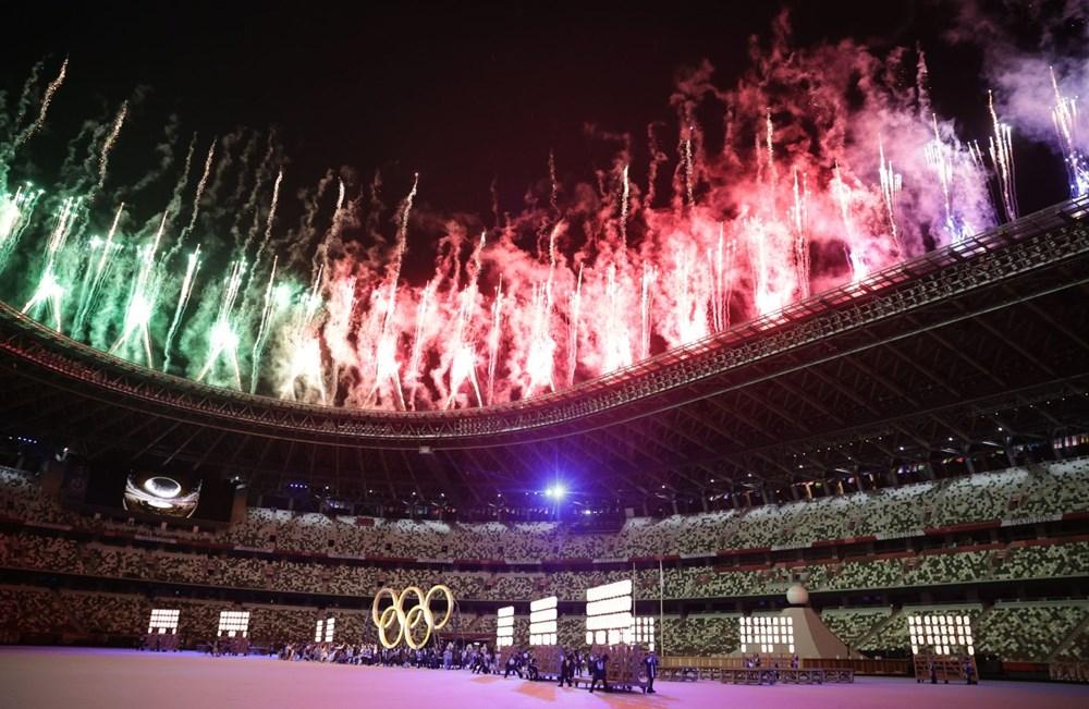 2020 Tokyo Olimpiyatları görkemli açılış töreniyle başladı - 28