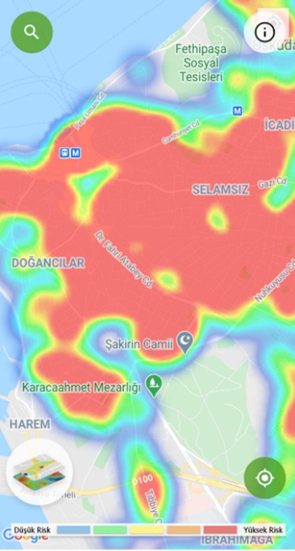 Corona haritası kızarıyor (İstanbul'un en güvenli ilçeleri) - 10