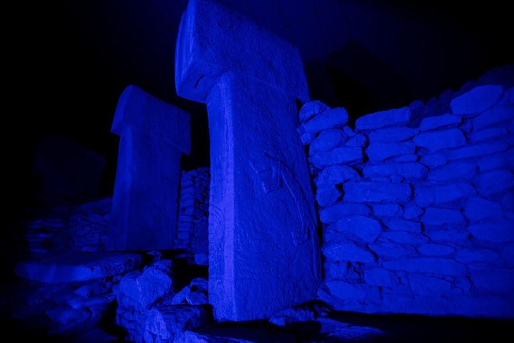 Kültür varlıkları maviye büründü - 5