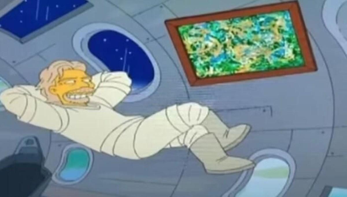 Richard Branson'ın uzay uçuşu: Simpsonlar'ın (The Simpsons) kehaneti yine mi tuttu?