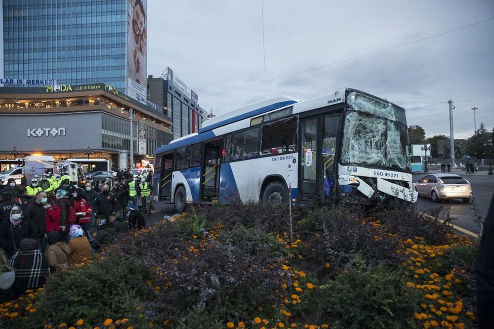 Ankara'da iki otobüs çarpıştı: 17 yaralı - 7