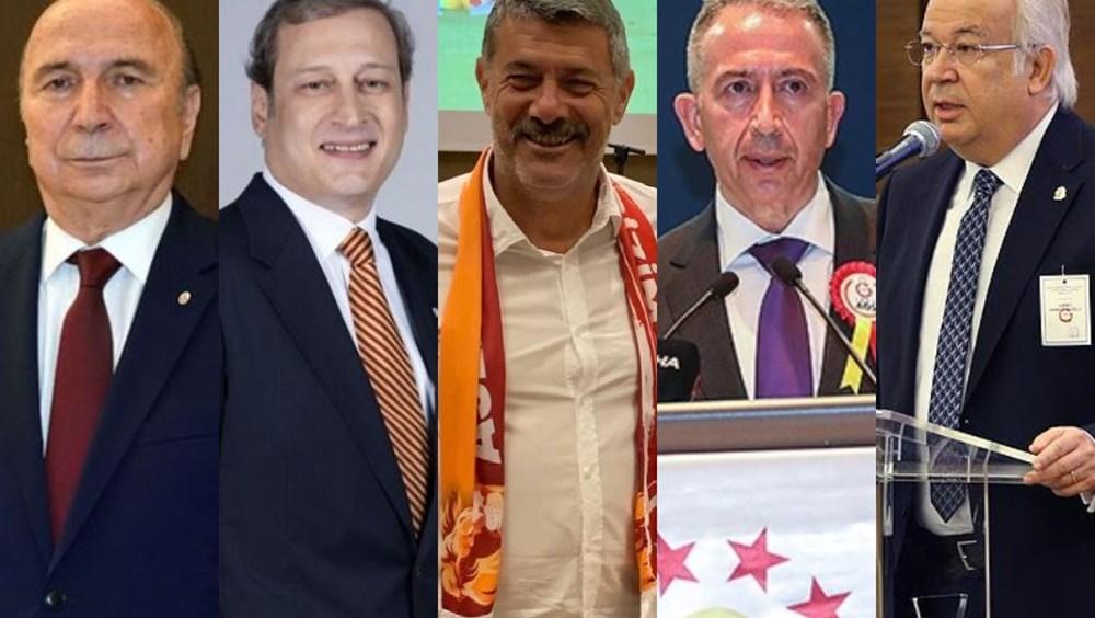 Galatasaray'da tarihi gün: 5 adaylı başkanlık seçimi