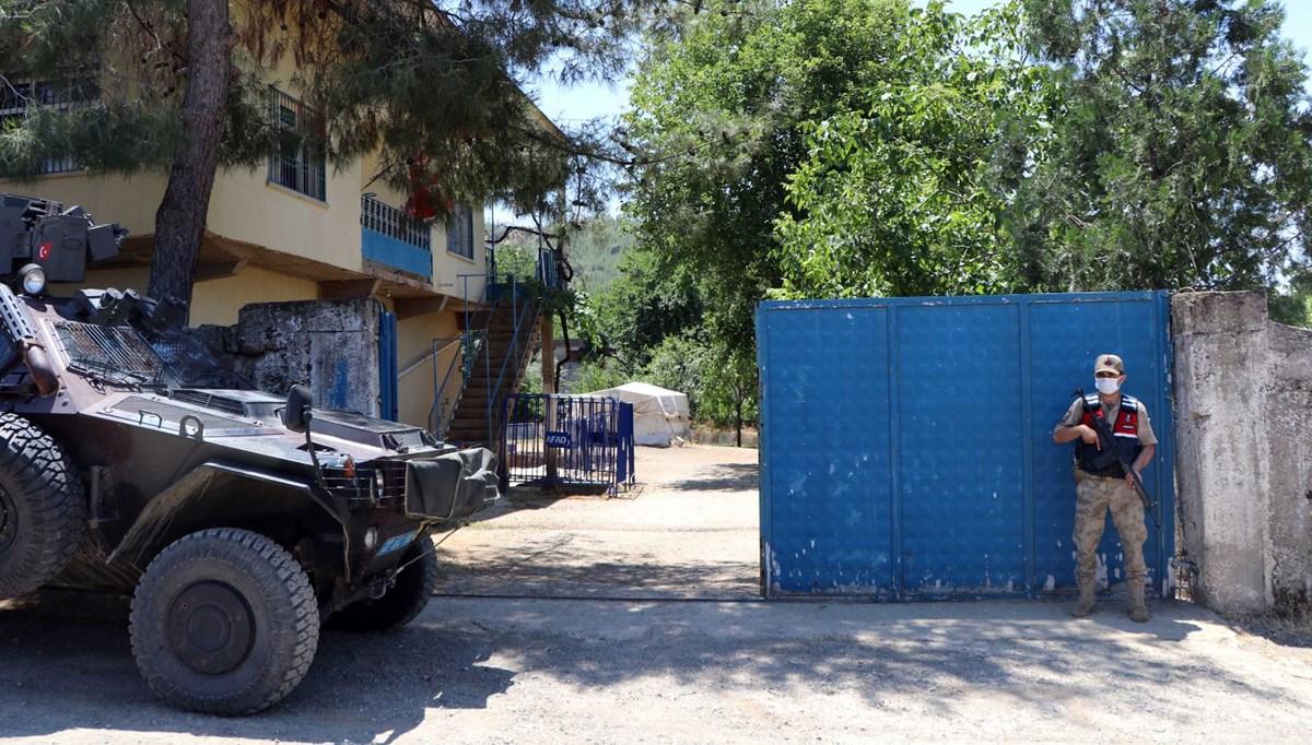 Gaziantep'te jandarmadan mozaik nöbeti