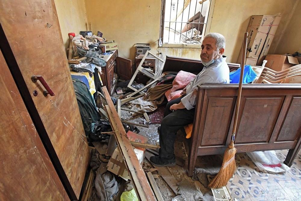 Harabelerin ortasındaki Lübnan halkı: Binlerce kişi evsiz - 12