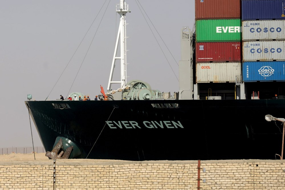 """blocking the Suez Canal """"The Ever Given"""" Headed to the Netherlands - 3"""