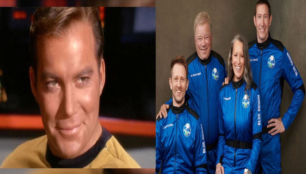 Kaptan Kirk uzayda
