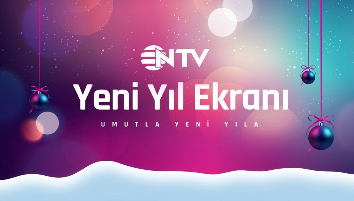 NTV'de yılbaşı ekranı