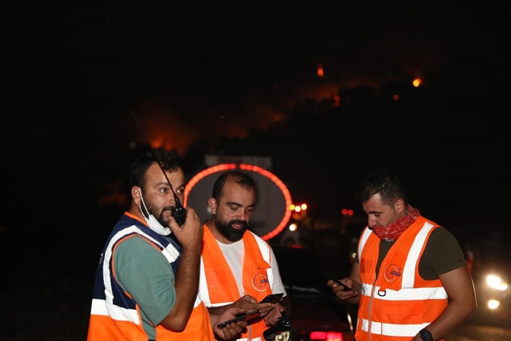 Orman yangınında gönüllülerin asılsız ihbar mesaisi - 6