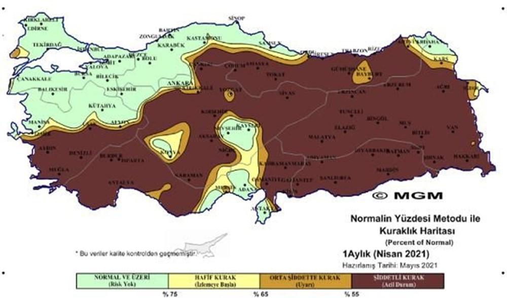 Üç bölgede 'olağanüstü' kuraklık - 1