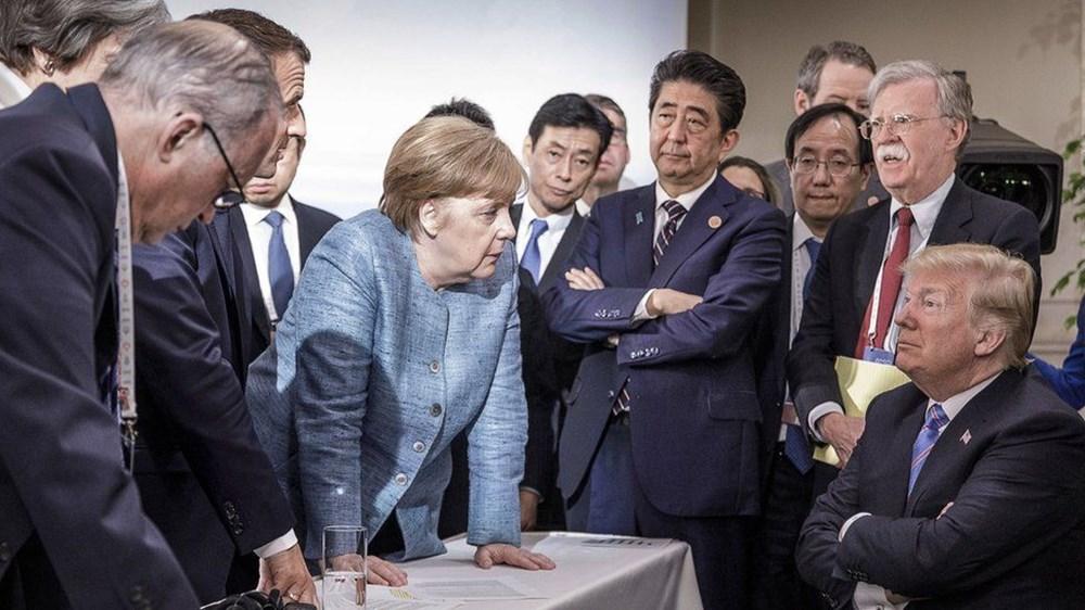 10 fotoğraf ile Trump'ın başkanlık döneminin özeti - 3