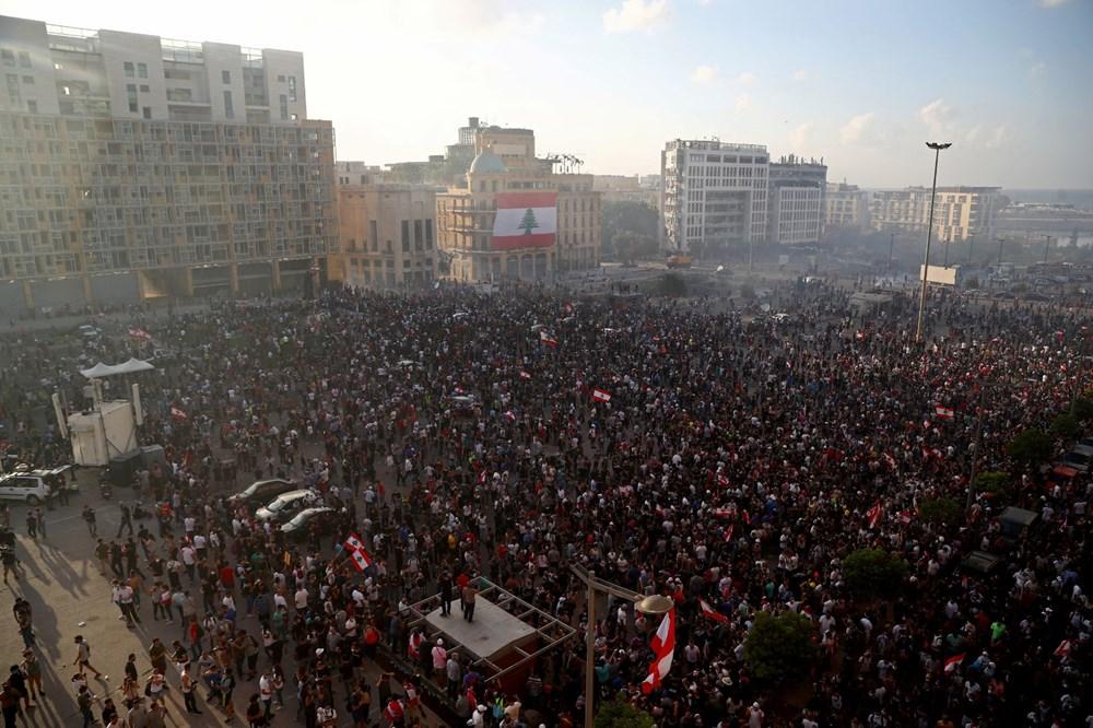 Lübnan'da hükümet karşıtı gösteri (Lübnan Başbakanı'ndan erken seçim açıklaması) - 7