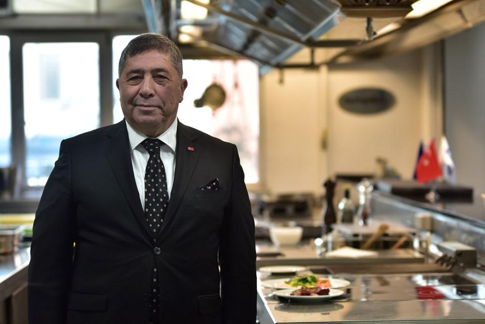 İstanbul Demir ve Demir Dışı Metaller İhracatçıları Birliği Başkanı Tahsin Öztiryaki