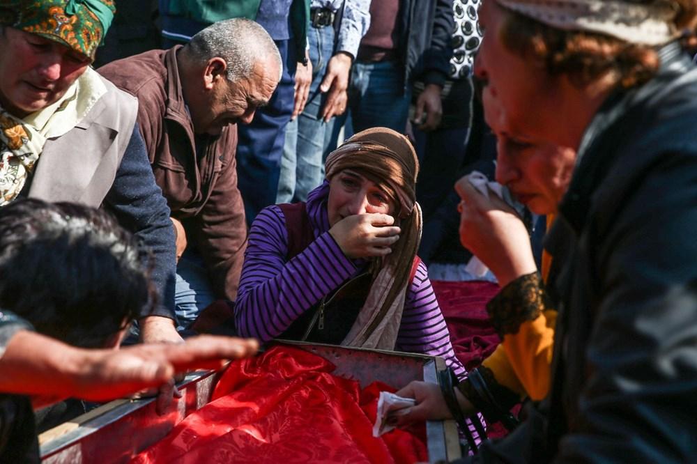 Hain saldırının küçük kurbanları: Cenazede gözyaşları sel oldu - 14