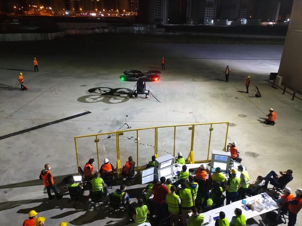 Türkiye'nin ilk uçan arabası CEZERİ ilk uçuşunu tamamladı - 1