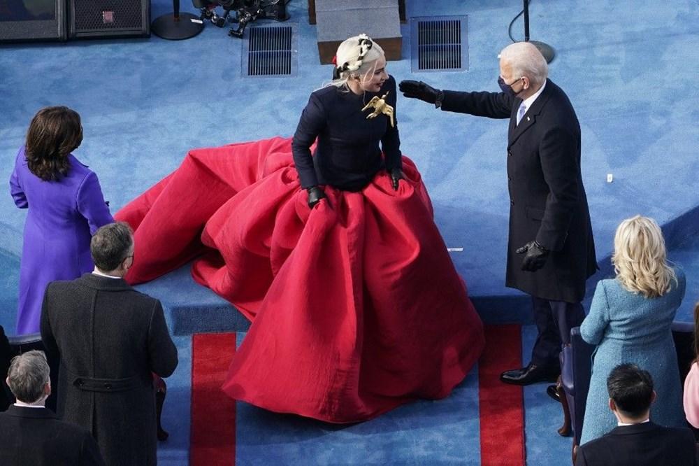 Joe Biden'ın yemin töreninden kareler (ABD'nin 46. Başkan Joe Biden göreve başladı) - 3