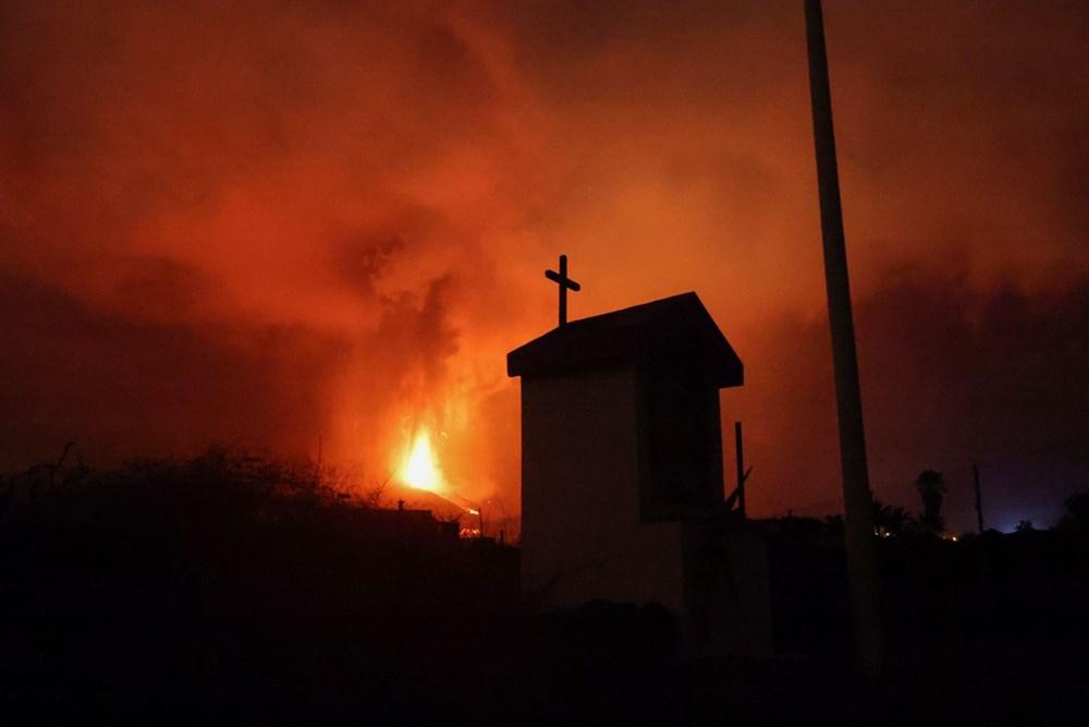 Kanarya Adaları'nın mucize evi: Etrafındaki her şey küle dönmesine rağmen hiçbir zarar görmedi - 9