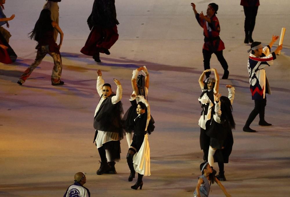 2020 Tokyo Olimpiyatları görkemli açılış töreniyle başladı - 45