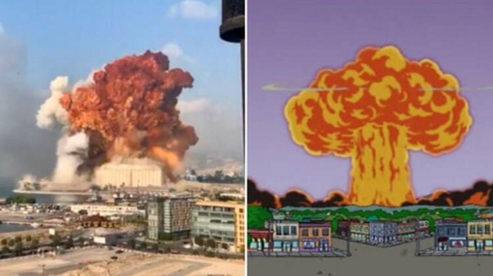 Simpsonlar'ın (The Simpsons) Lübnan patlaması tahmini (Simpsonlar'ın kehanetleri) - 1