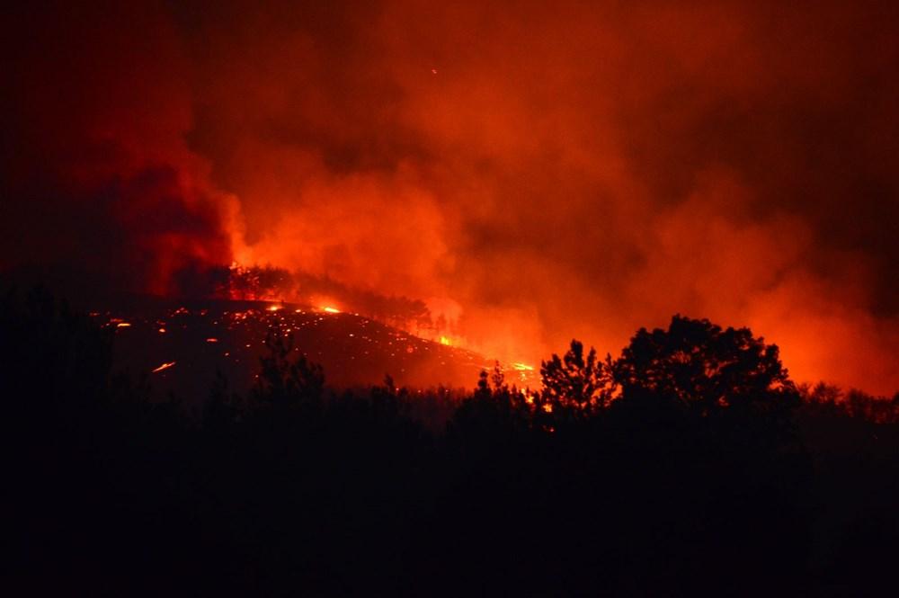 Adana'da orman yangını: 8 köy boşaltıldı - 22