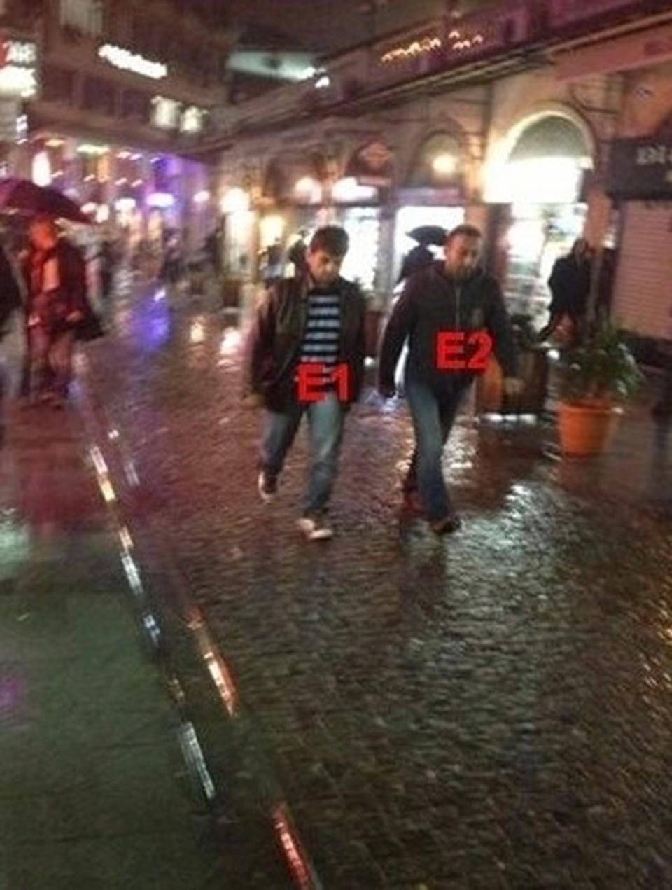 Suriye'de yakalanarak Türkiye getirilen Yusuf Nazik (solda)