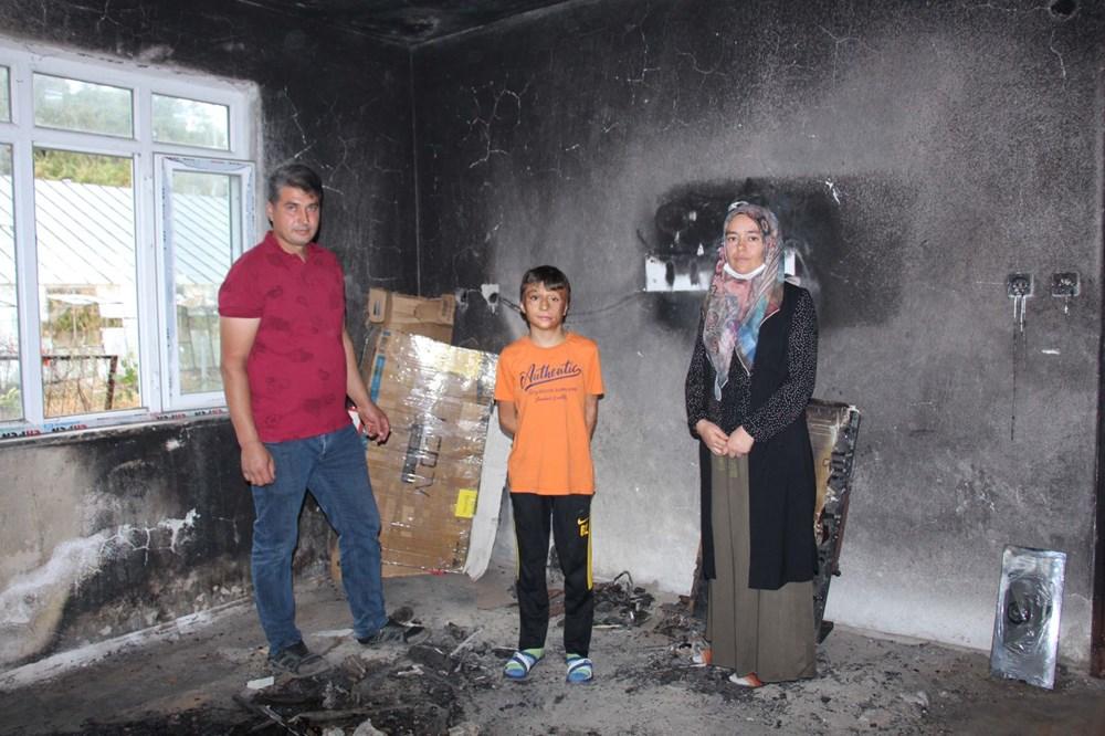 8 yıl önce yanan odayı dava bitmediği için külleriyle kilitli tutuyorlar - 2