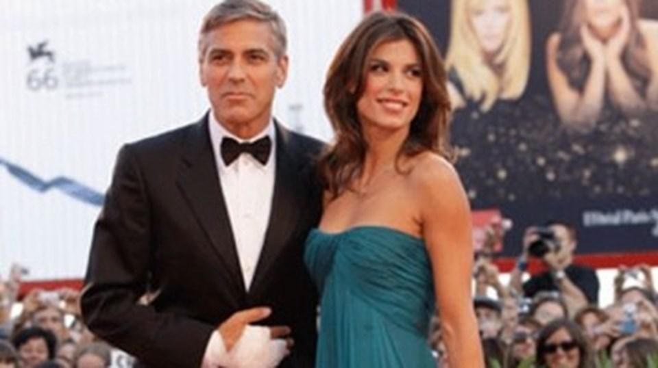 George Clooney ve sevgilisi Elisabetta Canalis