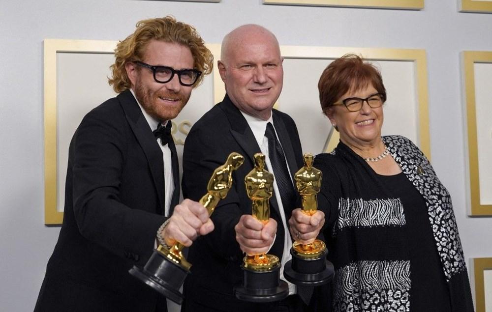 2021 Oscar Ödülleri sahiplerini buldu (93. Oscar Ödülleri'ni kazananlar) - 23