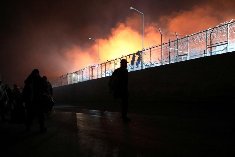 Midilli'deki sığınmacı kampında yangın - 7