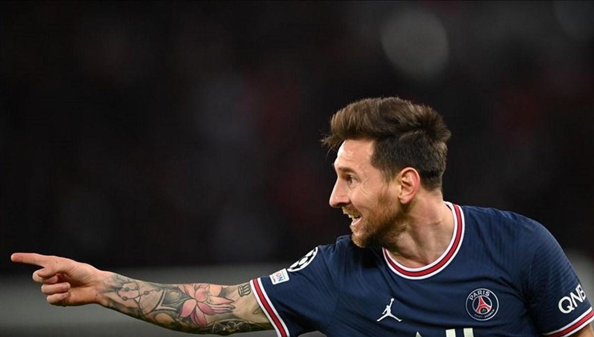 Lionel Messi PSG formasıyla ilk golünü attı
