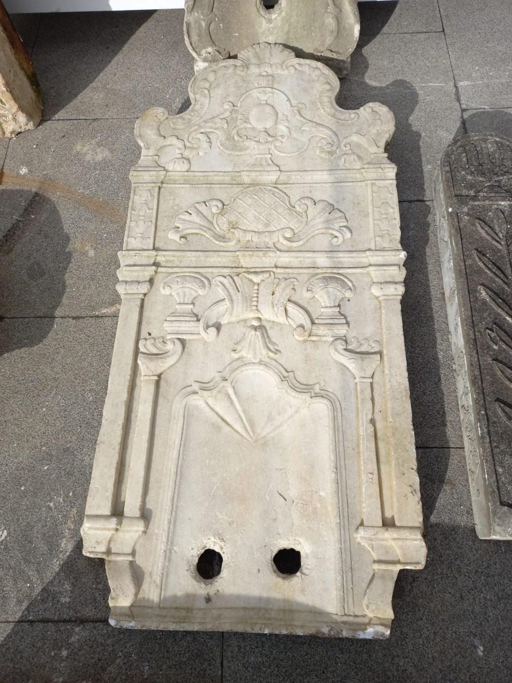 Beşiktaş'ta tarihi eser operasyonu:  Bizans ve Osmanlı dönemlerine ait eserler - 4