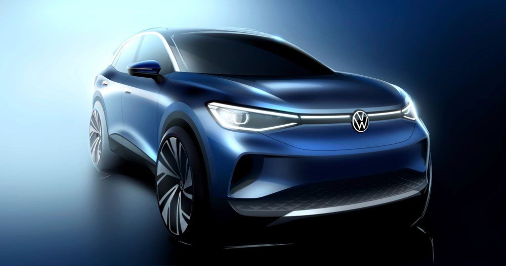 Volkswagen'in ilk elektrikli SUV'u ID.4'ün seri üretimine başlandı - 3
