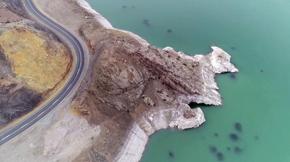 Baraj gölündeki balıkların kümeler halinde durmasının nedeni ortaya çıktı - 7