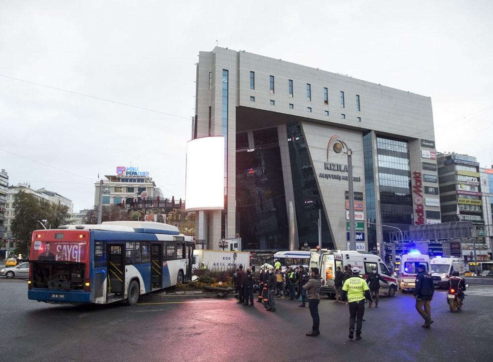 Ankara'da iki otobüs çarpıştı: 17 yaralı - 12