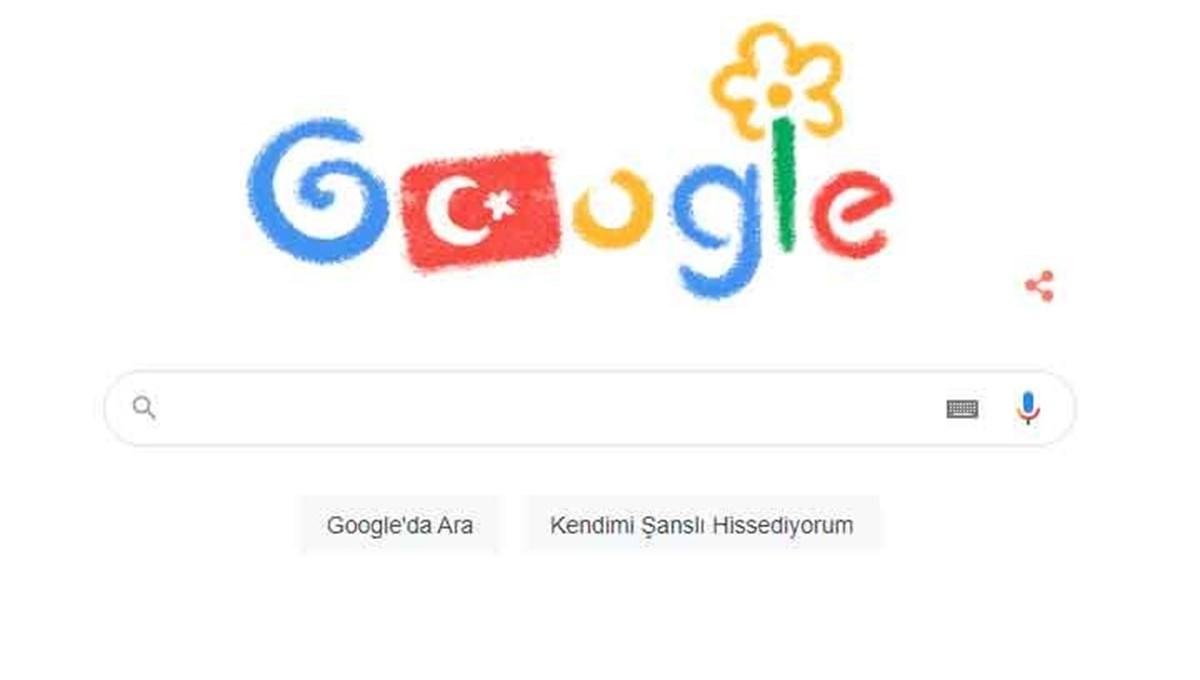 Google, 23 Nisan Ulusal Egemenlik ve Çocuk Bayramı'nı kutladı