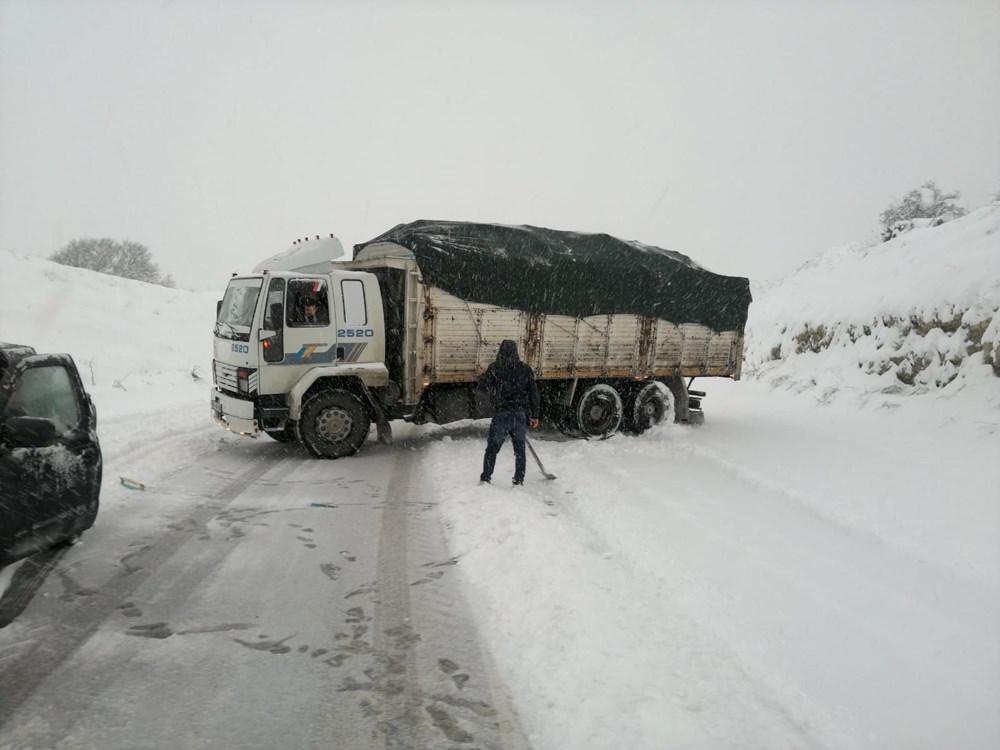 Yurtta kar yağışı (İzmir'in yüksek kesimlerinde kar yağışı etkili oluyor) - 17