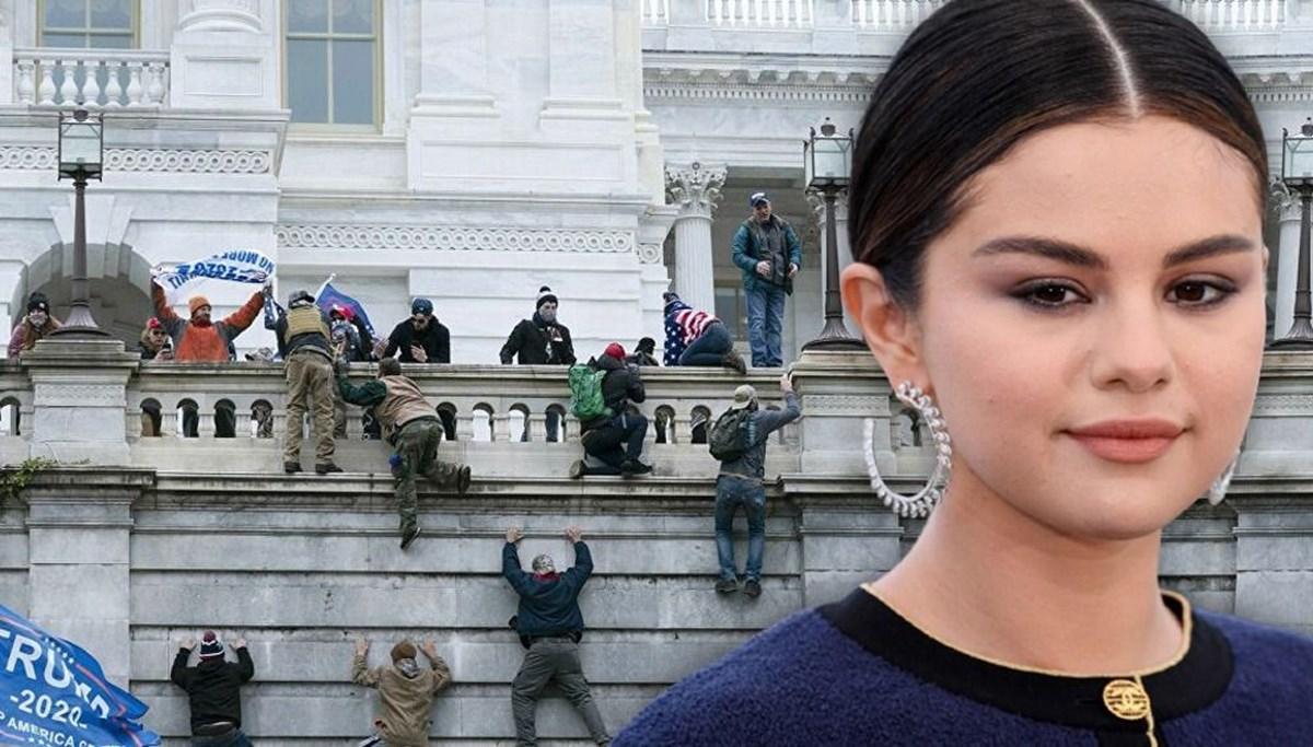 Selena Gomez teknoloji devlerini ABD'deki şiddeti körüklemekle suçladı