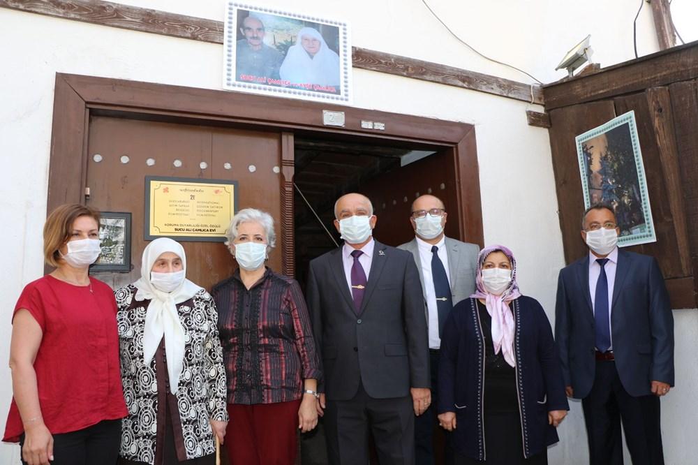 Safranbolu'da 200 yıllık eve 'En İyi Korunan Ev Onur Ödülü' verildi - 3