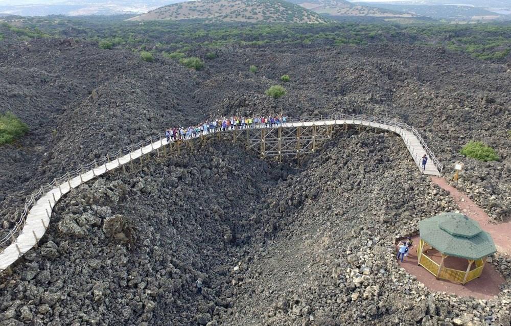 Türkiye'nin jeolojik yapısına ışık tutan Kula Jeoparkı (Manisa gezilecek yerler) - 6