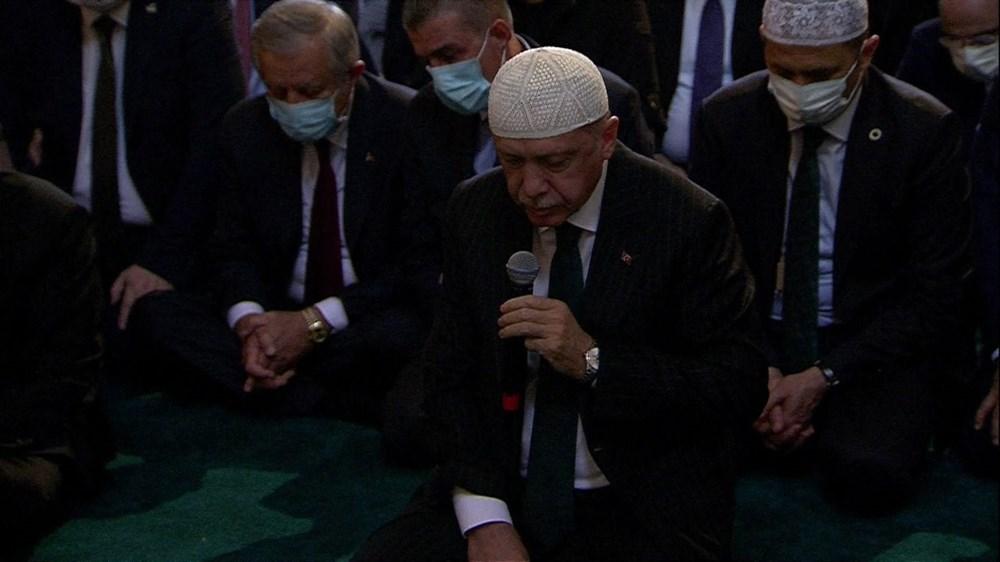 Ayasofya-i Kebir Camii Şerifi ibadete açıldı (Ayasofya'da 86 yıl sonra ilk namaz) - 3