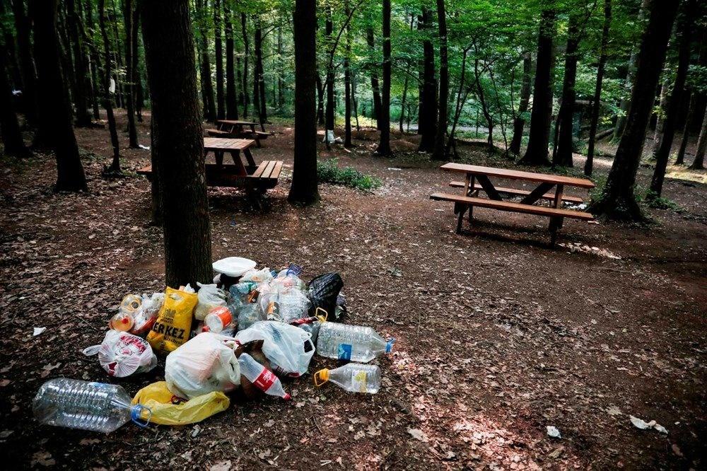 Belgrad Ormanı'nda bitmeyen vandallık - 2