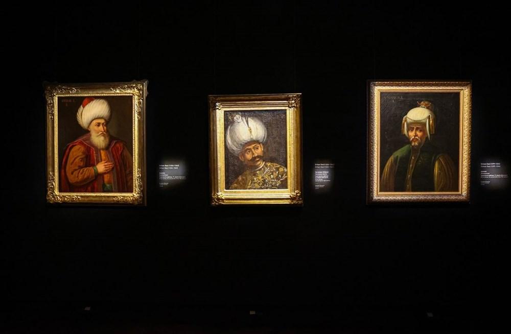 553 eser Osmanlı saray resminin tek temsilcisi Milli Saraylar Resim Müzesi'nde - 15