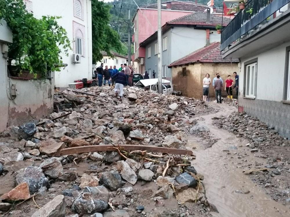 SON DAKİKA HABERİ: Bursa Kestel'deki  selde 5 ölü, 1 kayıp - 3