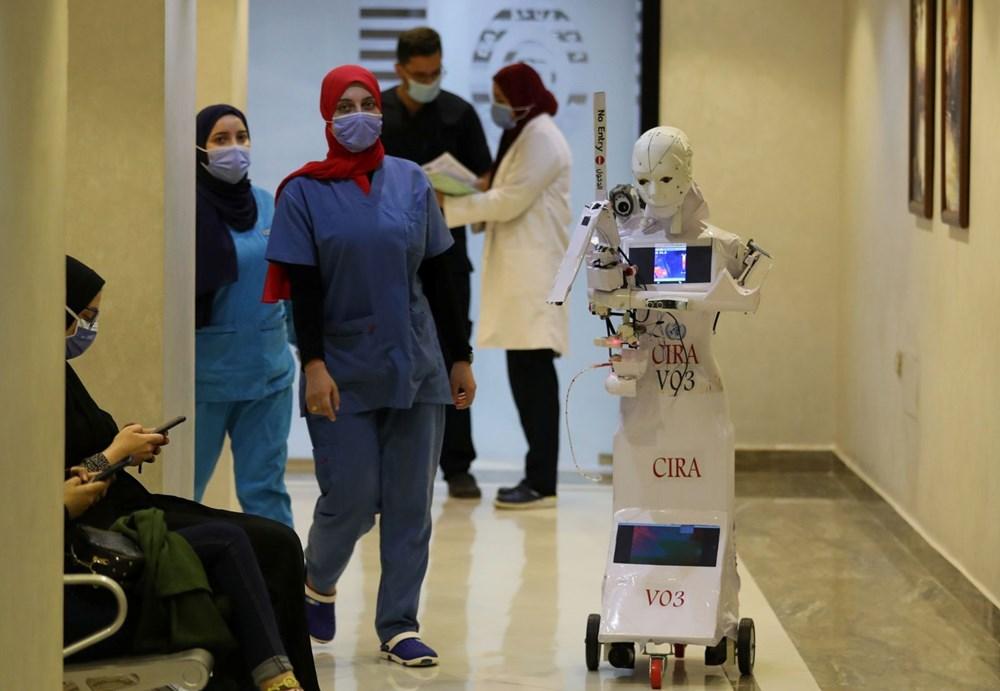 Mısır'da Covid-19'a karşı robotla mücadele - 7