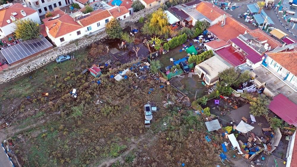 Tsunaminin vurduğu Seferihisar görüntülendi - 8