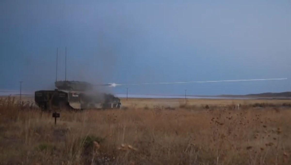 Türkiye'nin yeni zırhlısı ''TULPAR'' göreve hazır