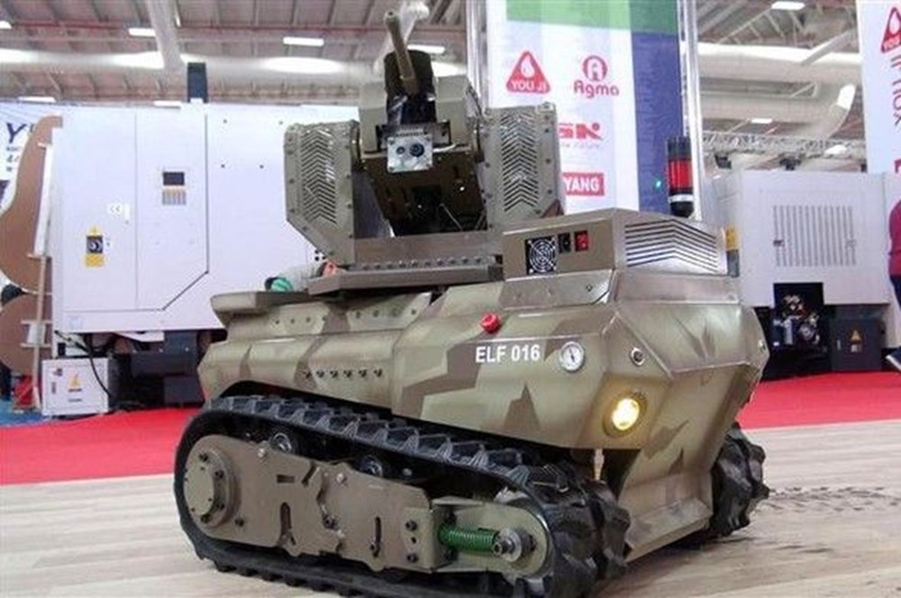 Dijital birliğin robot askeri Barkan göreve hazırlanıyor (Türkiye'nin yeni nesil yerli silahları) - 199