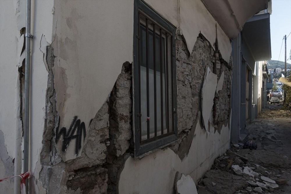 Depremin vurduğu Yunan adası Sisam'da son durum - 38