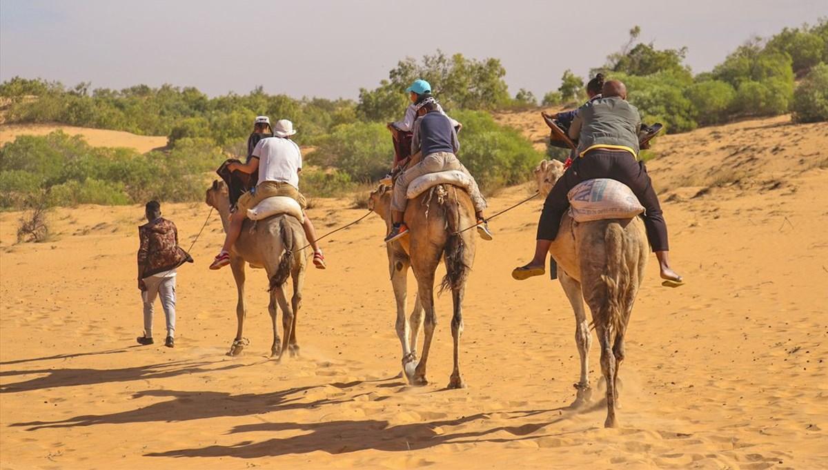 Senegal'de okyanusa komşu bir 'cep çölü': Lompoul